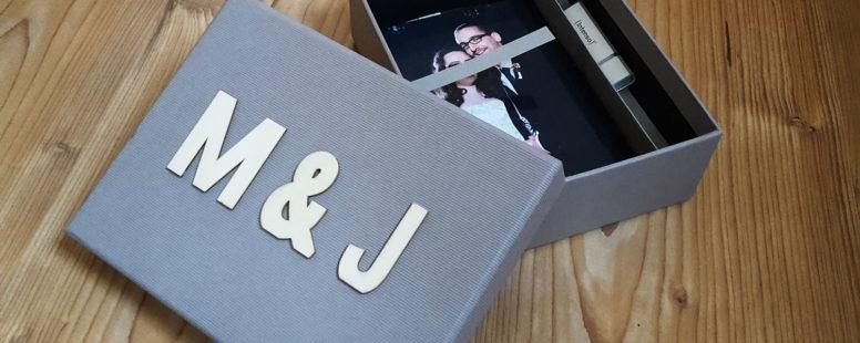 Die Verpackung für deine Hochzeitsbilder